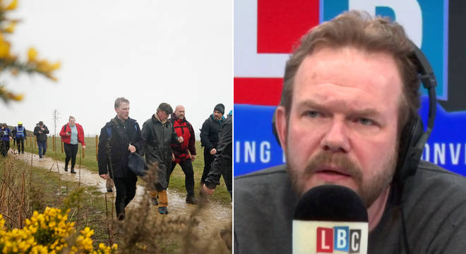 James O'Brien talked about the Leave Means Leave March
