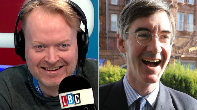 Darren Adam received a lovely call from Jacob Rees-Mogg's driving instructor