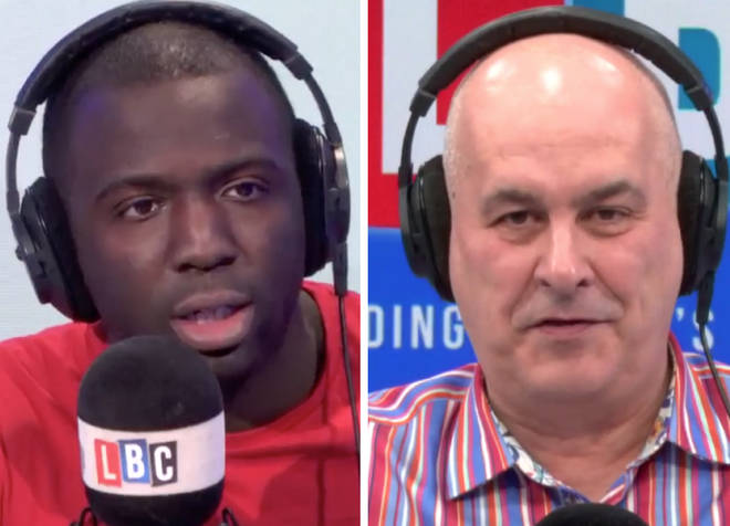 Iain Dale locked horns with anti-Brexit campaigner Femi Oluwole