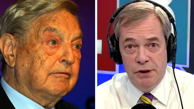 Nigel Farage George Soros