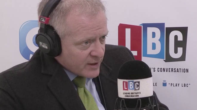 Dr Phillip Lee spoke to LBC on Wednesday