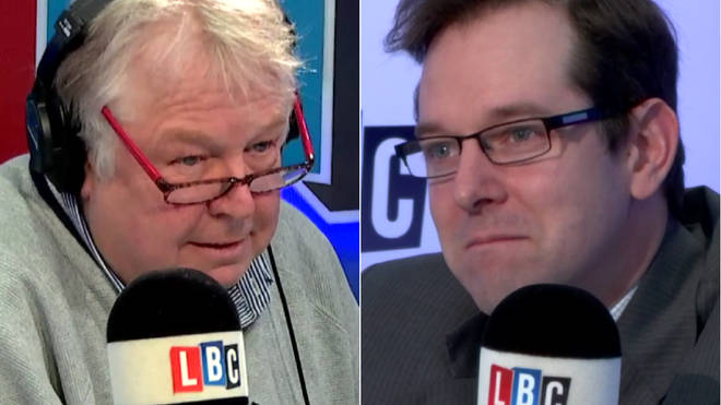 The head of the Freemasons spoke to Nick Ferrari