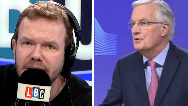 James O'Brien Michel Barnier