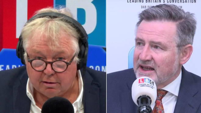 Nick Ferrari's interview with Barry Gardiner was very tense