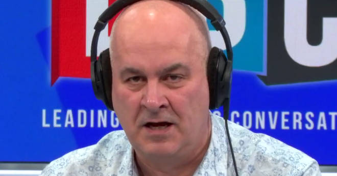 "Iain Dale slammed the caller&squot;s ""disgusting"" remarks"