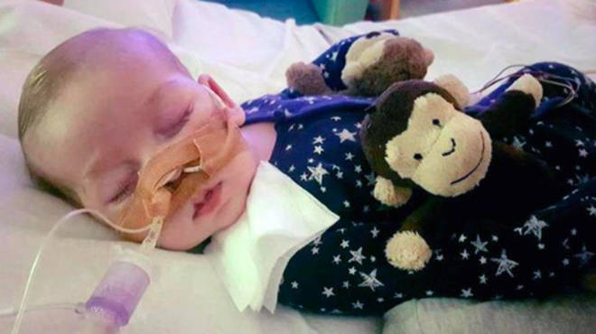 Charlie has a rare genetic condition affecting his mitochondria and doctors argued life support should be switched off because there was no chance of his condition improving Photo: PA