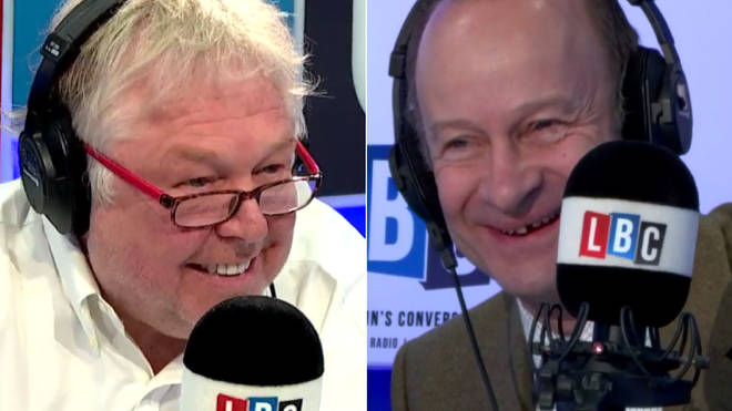 Nick Ferrari asked Henry Bolton of his plans for Valentine's Day
