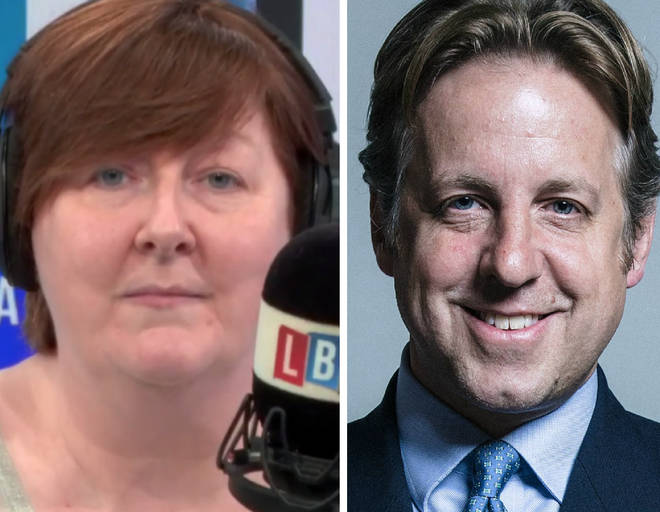 Shelagh Fogarty repeatedly asked Marcus Fysh MP the same question
