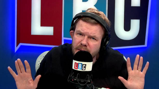 James O'Brien was left speechless by Steve's call