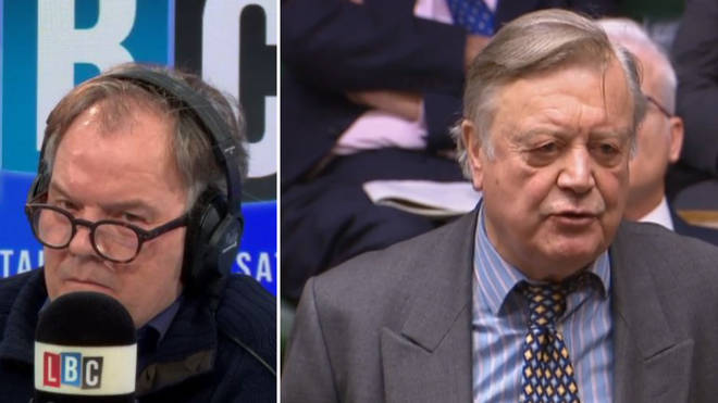 LBC Presenter Matt Frei and Conservative MP Ken Clarke