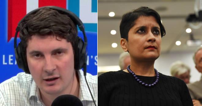 Tom Swarbrick spoke to Shami Chakrabarti