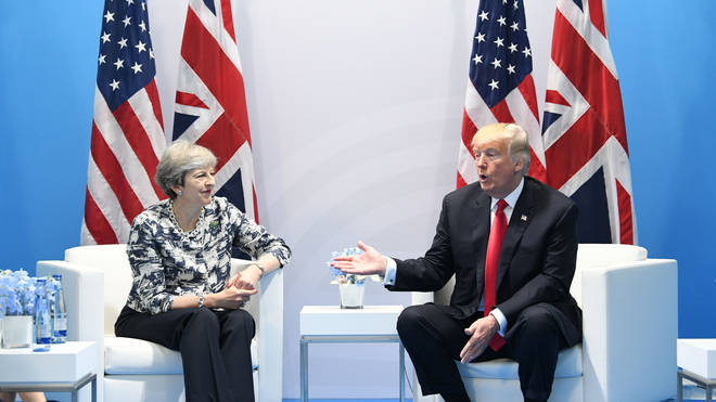Theresa May met with Donald Trump at the G20, where the pair confirmed a state visit will take place