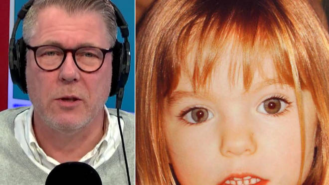 Ian Collins was speaking to Karen about Madeleine McCann