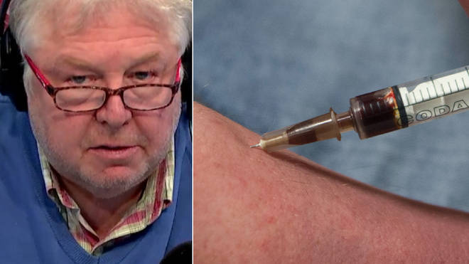 Nick Ferrari discussed the plan to give addicts heroin safely