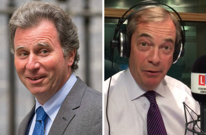 """Nigel Farage criticised Conservative MP Sir Oliver Letwin over his """"wrecking"""" amendment"""