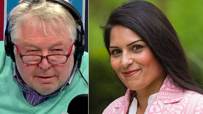 Priti Patel told Nick she wouldn't donate to Oxfam