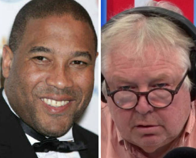 Nick Ferrari and John Barnes clashed on Tuesday