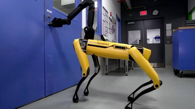 Boston Dynamics' new robot