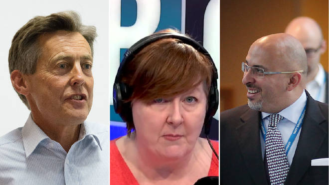 Shelagh hosted a fiery debate between Ben Bradshaw and Nadhim Zahawi