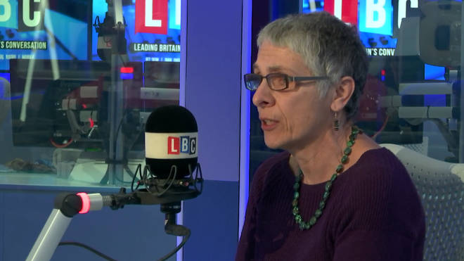 Melanie Phillips was on fiery form on LBC