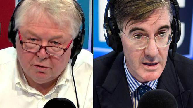 Nick Ferrari spoke to Jacob Rees-Mogg on LBC