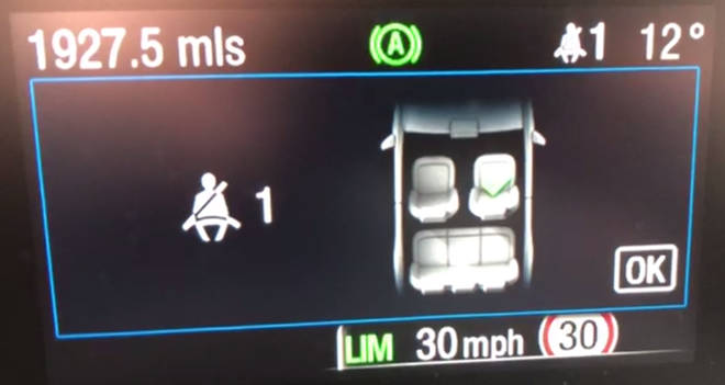 The speed limiting software in the Ford Focus