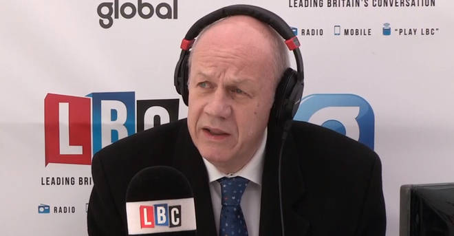 Damian Green, speaking on LBC from our Westminster Studio