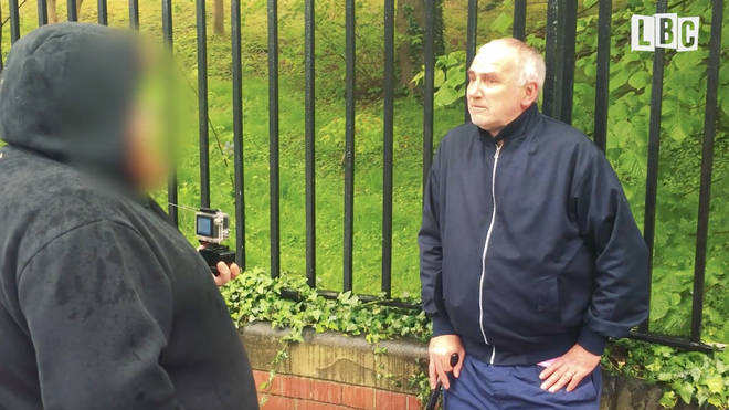Brian Turnbull is caught by paedophile hunters Dark Justice