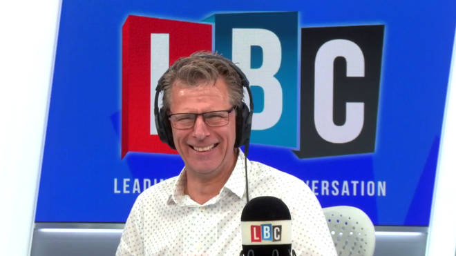 Andrew Castle was in stitches when his caller rejected his suggestions for a replacement Prime Minsiter
