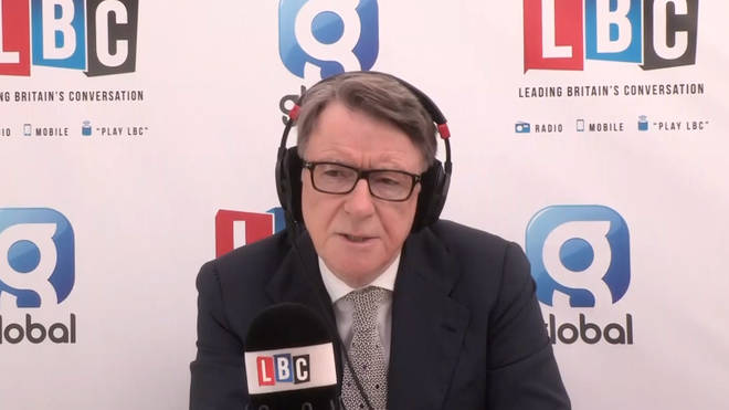 Lord Mandelson spoke to Shelagh Fogarty on Monday