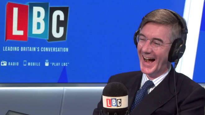 Jacob Rees-Mogg played an April Fools' Day joke on Nick Ferrari