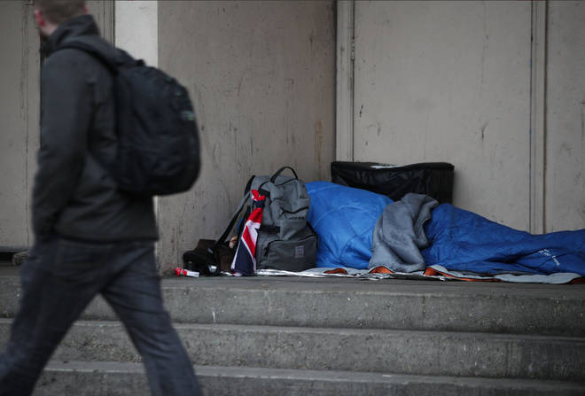 Homelessnes continues to be a problem across the UK