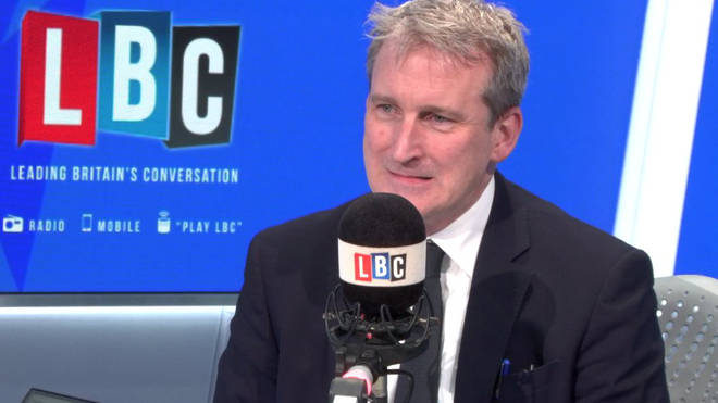 Damian Hinds spoke to LBC on Tuesday