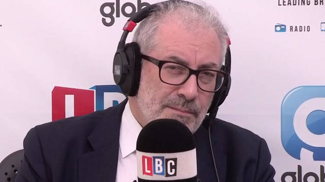 Lord Kerslake spoke to Eddie Mair on Tuesday