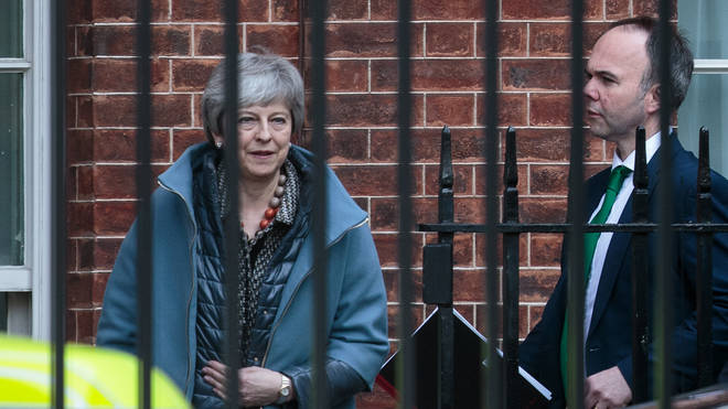 Theresa May met her Cabinet on Tuesday in a bid to break the Brexit logjam