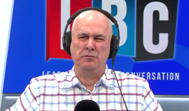 Iain Dale was involved in a heated row with caller Felix