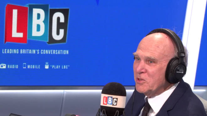 Sir Vince Cable took LBC listeners' calls on Wednesday