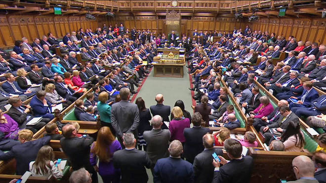 The amendment would have seen a third round of indicative votes on Monday