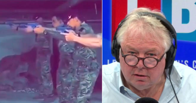 Nick Ferrari spoke to Paul Sweeney about the army video