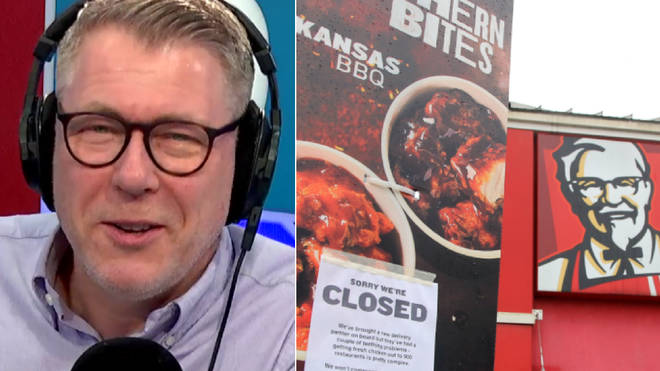 Ian Collins' caller told him what had gone wrong with the chicken
