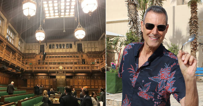 Uri Geller claims he caused the leak that closed down the House of Commons
