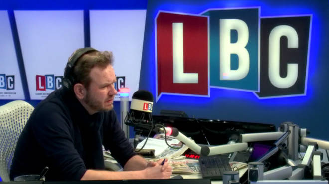 James O'Brien was left shocked by what he heard