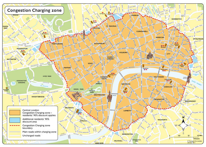The London Congestion Charge Zone