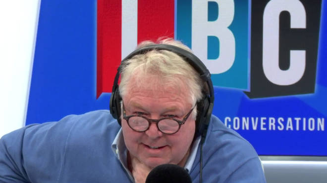 Frankie's call to LBC left listeners in hysterics as he gave Theresa May some frank advice