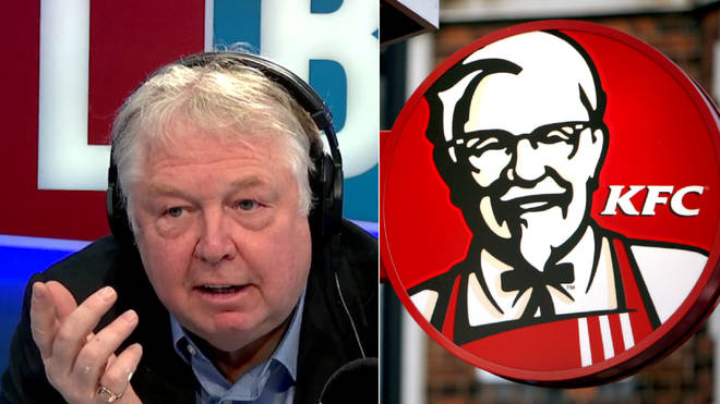 Nick Ferrari finds the hysteria over KFC baffling