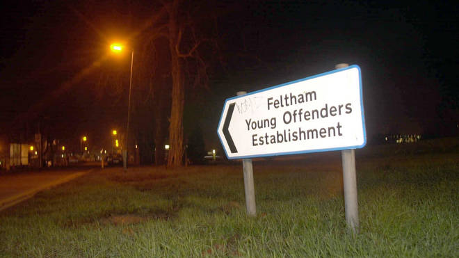 Feltham YOI was the scene of violence at the weekend