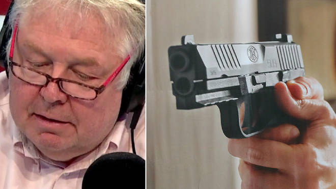 Nick Ferrari heard why arming teachers won't work
