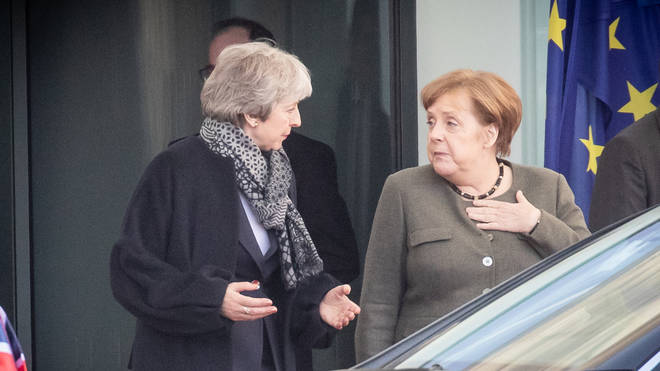 Theresa May has met with Angela Merkel in a bid to try and secure another Brexit delay
