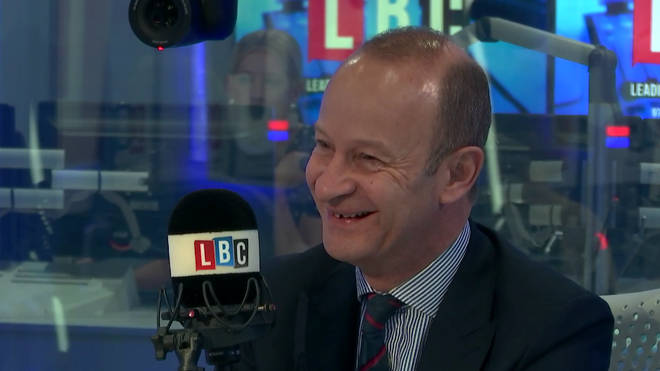 Henry Bolton laughed as he admitted he never broke up with Jo Marney