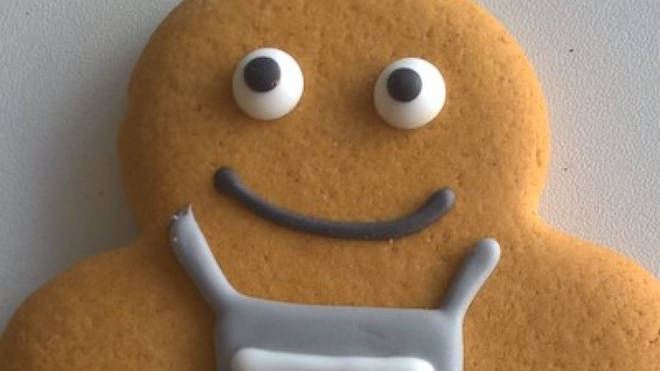Co-op's new gingerbread person